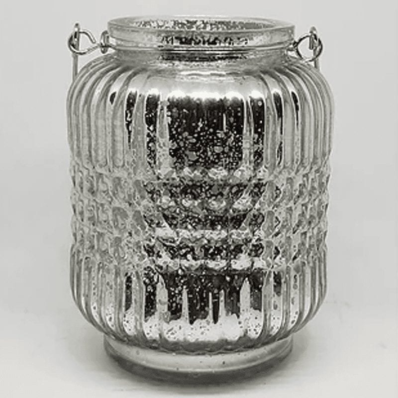 Mercury Glass Hanging Lanterns