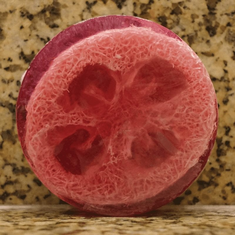 Hana Lima Soap Co Scented Loofah Soap